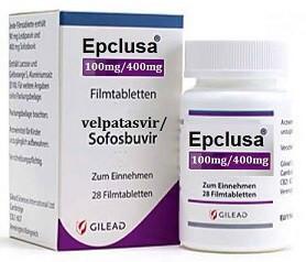 препарат от гепатита С Эпклуса
