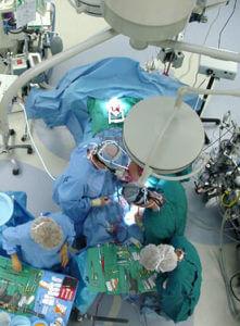 Операция аортокоронарного шунтирования