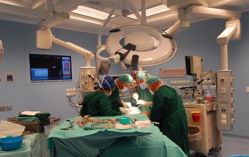 Операция в отделении онкологии