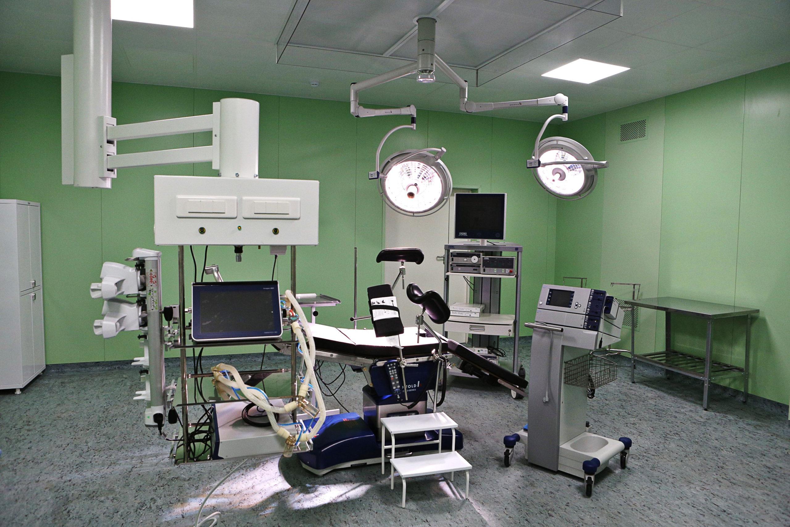 Отделение гинекологии в Израиле оснащено высокотехнологичным современным оборудованием