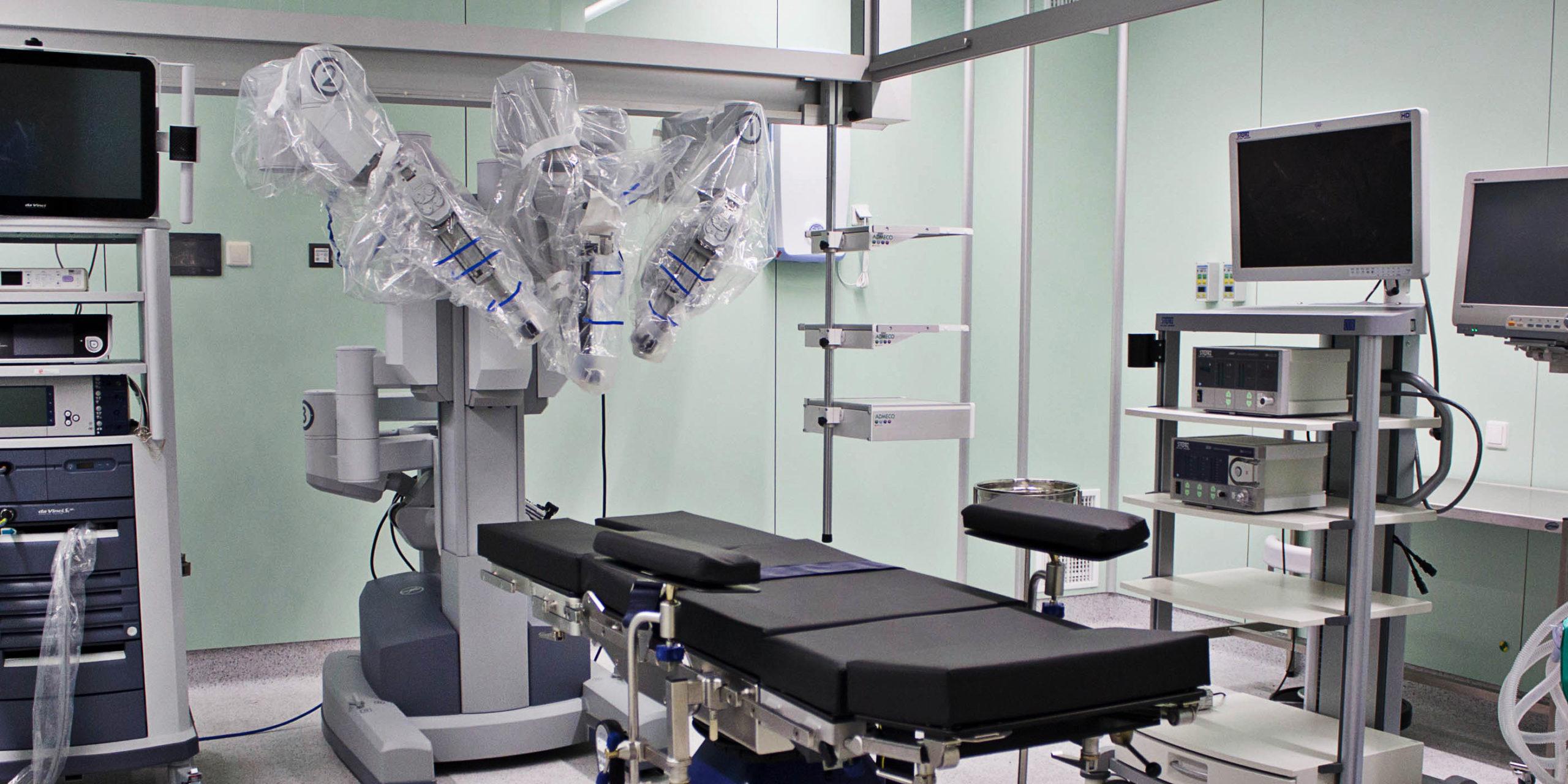 Современные технологии робот-ассистированной хирургии для проведения хирургических операций